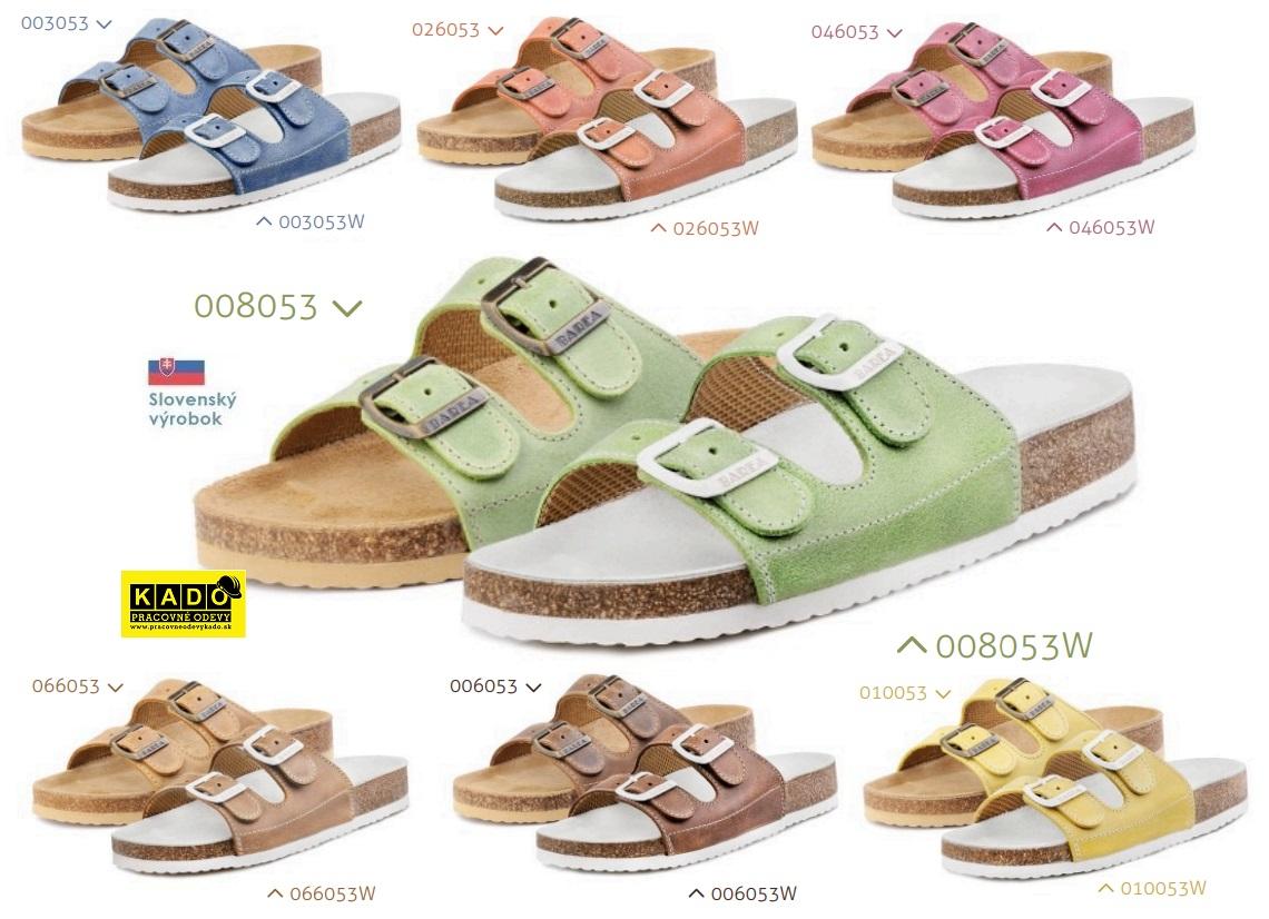 7d254b5390c2 Detská školská obuv-ortopedické šľapky 053 BAREA