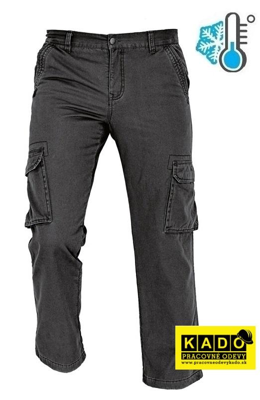b28b737c747c Pracovné odevy - zateplené outdoor nohavice RAHAN CRV čierne ...