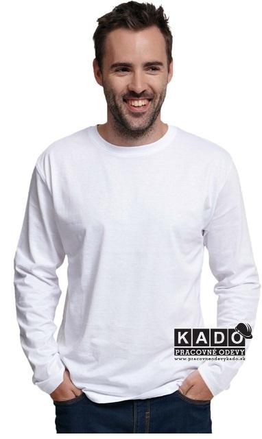 3aca15c743c1 Pracovné odevy - tričko s dlhým rukávom CAMBON ČERVA BIELE ...