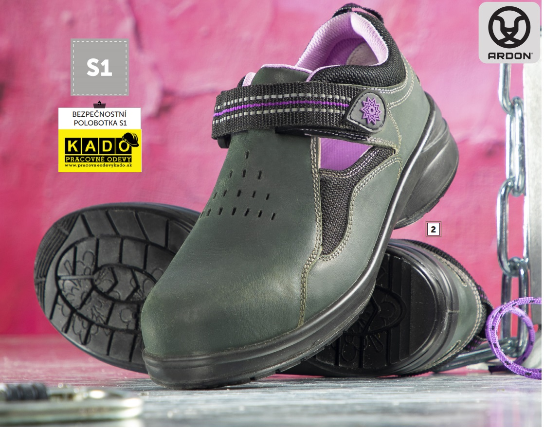 Dámska bezpečnostná obuv - SANDÁLE FLORET SAN S1 ARDON  61c16093dbf