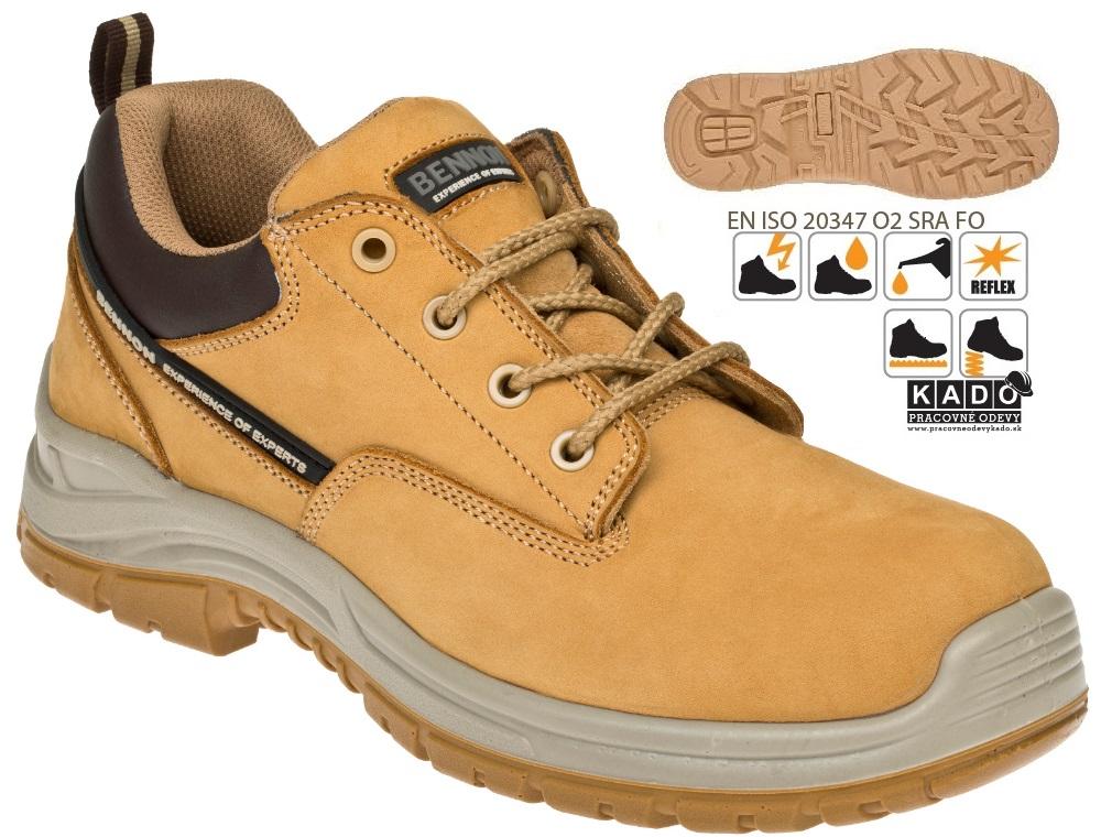 Pracovná obuv-poltopánky BENNON RANGER O2 low  43b8c3ea9c4