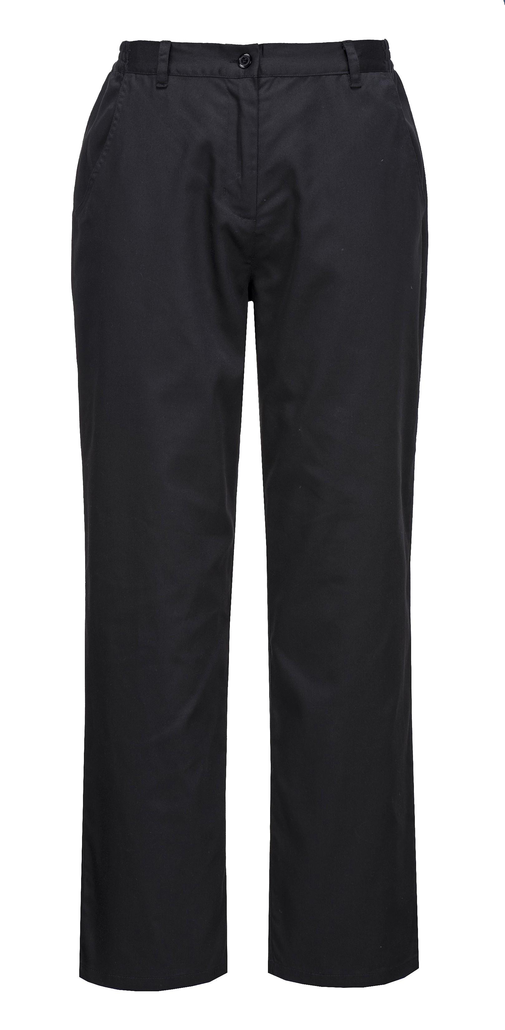 387d25e73 Pracovné odevy - dámske nohavice c071 RACHEL CHEST Portwest čierne ...