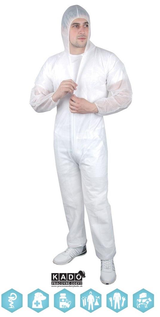 125182cda62f Pracovné odevy - jednorázový SPP OVERAL ANDREW ARDON
