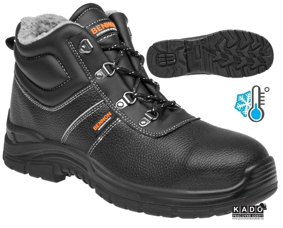 3c2b06849f6b Pracovná zateplená obuv BENNON BASIC O2 WINTER