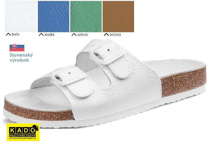 70b83a61ab75 Pracovná obuv BAREA - zdravotné ortopedické šľapky 030053
