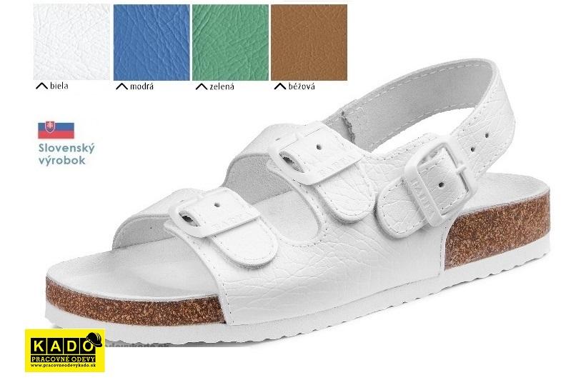 a5682f60b973 Pracovná obuv barea - zdravotné ortopedické sandále 040462 Dámske