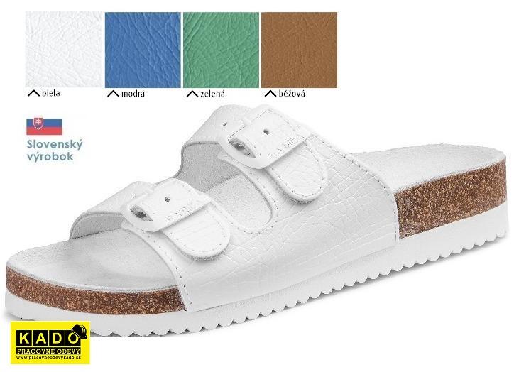 4d51a310b7c4 Pracovná obuv barea - zdravotné ortopedické šľapky 030048 dámske