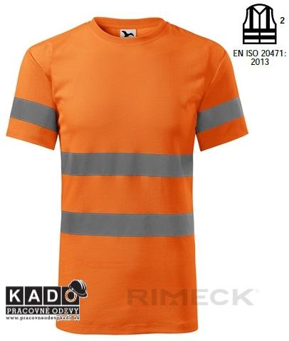 79b90af8967d6 Polobavlnené reflexné tričko ADLER 1V9 HV TRIČKO PROTECT ORANŽOVÉ ...