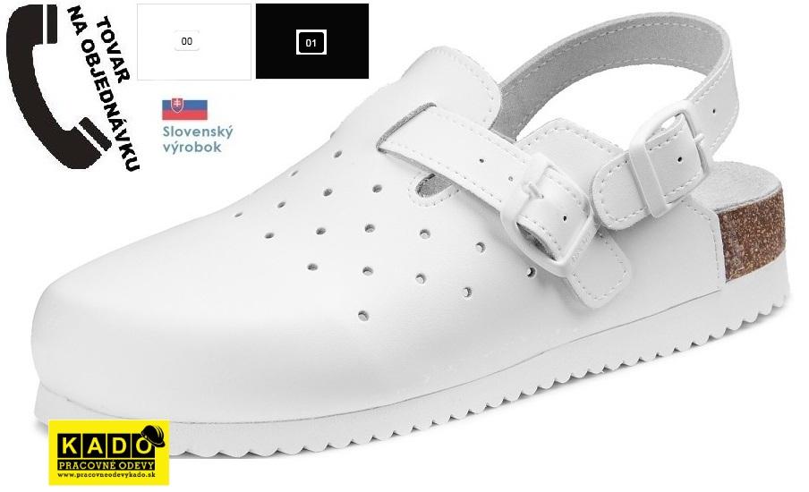 6c48223285b4 Pracovná obuv - zdravotné ortopedické sandále 070509 dámske barea