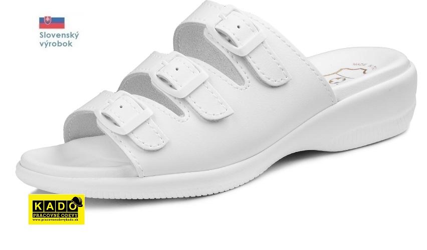 7228f40a3fbd Pracovná rehabilitačná obuv BAREA - zdravotné šľapky 080041 ...