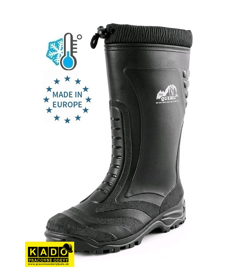 Pracovná obuv - Zateplené pracovné Čižmy QUEBEC CXS  43f31b7f0e0