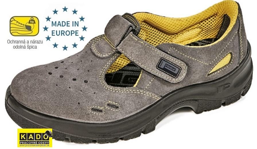 Bezpečnostná obuv PANDA - sandále YPSILON S1  3f00f48a8a