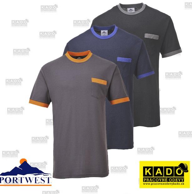 739009e05ba8 Pracovné odevy - tričko TX22 Portwest s vreckom