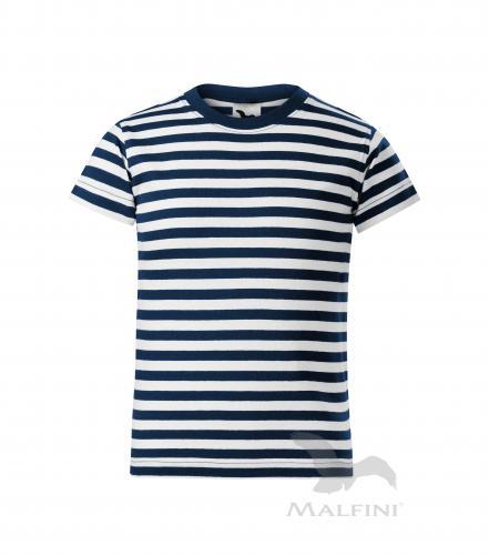 969560b175e0 Detské prúžkované tričko SAILOR ADLER 150g
