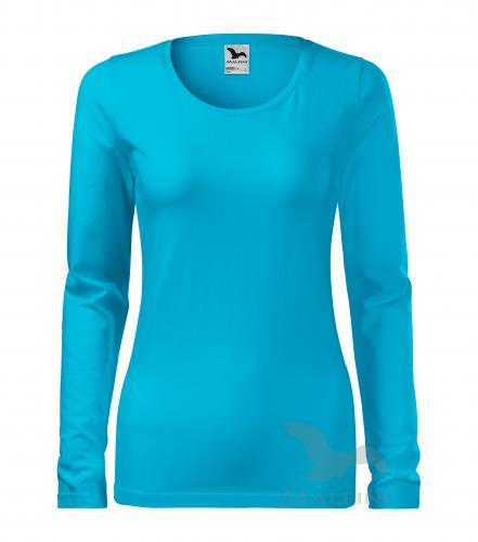 c4da0aea7e3d7 Pracovné odevy - 139 tričko dámske Slim adler 44 tyrkysová ...