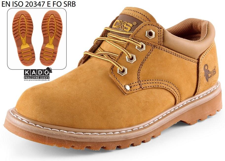 9be92e1c2d5f Pracovná obuv - poltopánky ROAD BELMONT pieskové