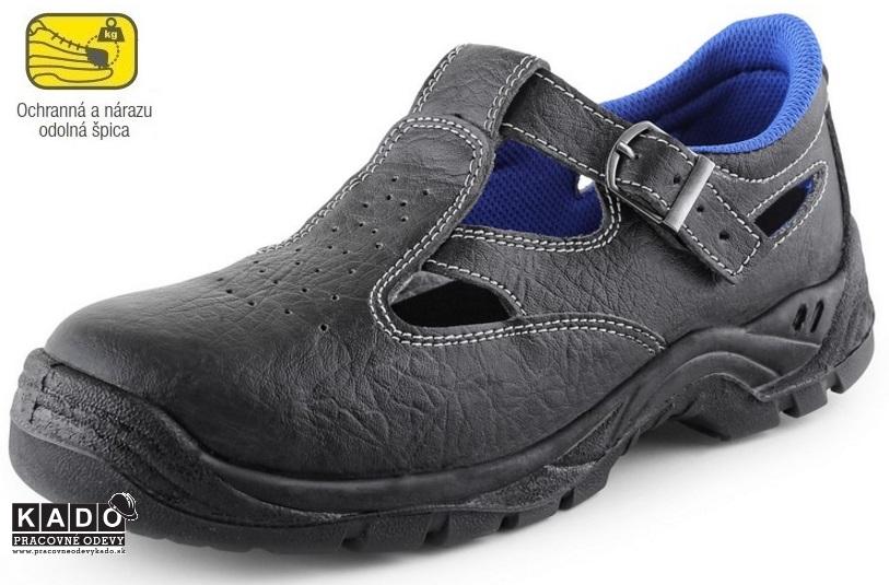 Bezpečnostná obuv - sandále DOG TERIER S1 CXS  9714f6fa8e