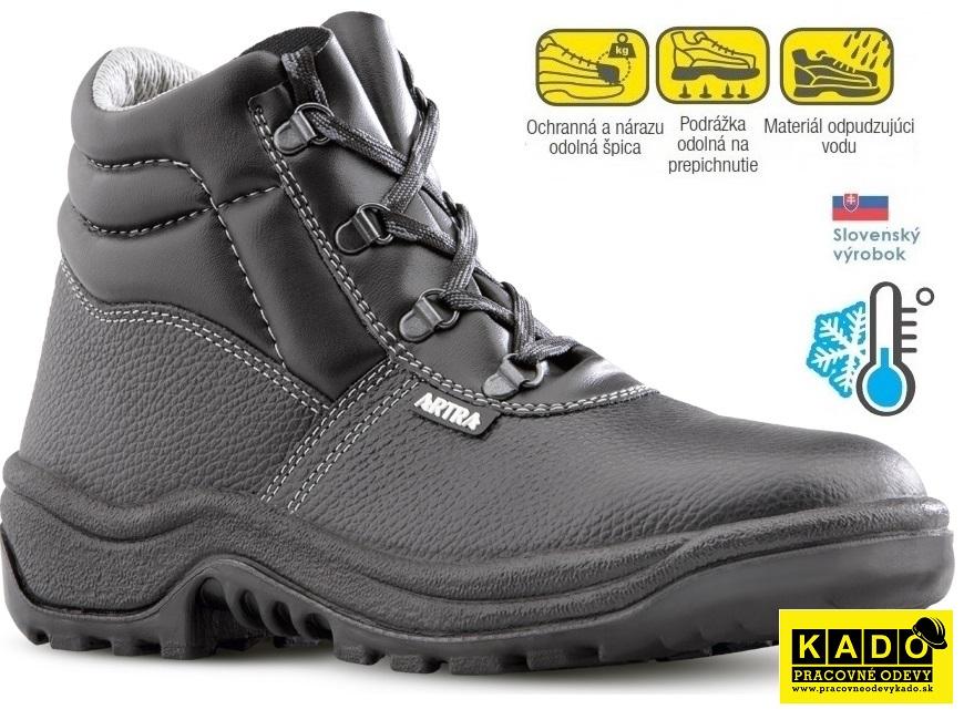 12c1ab195bae Bezpečnostná zateplená obuv ARTRA ARAUKAN 6060 S3 CI
