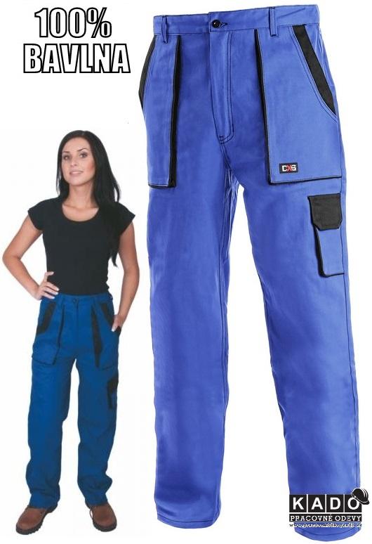 14e18f320590 Pracovné odevy - Dámske Nohavice pás CXS LUXY ELENA modré