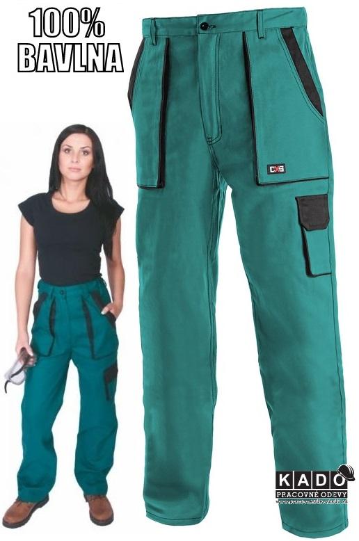 6bd89557fee3 Pracovné odevy - Dámske nohavice CXS LUXY ELENA zelené
