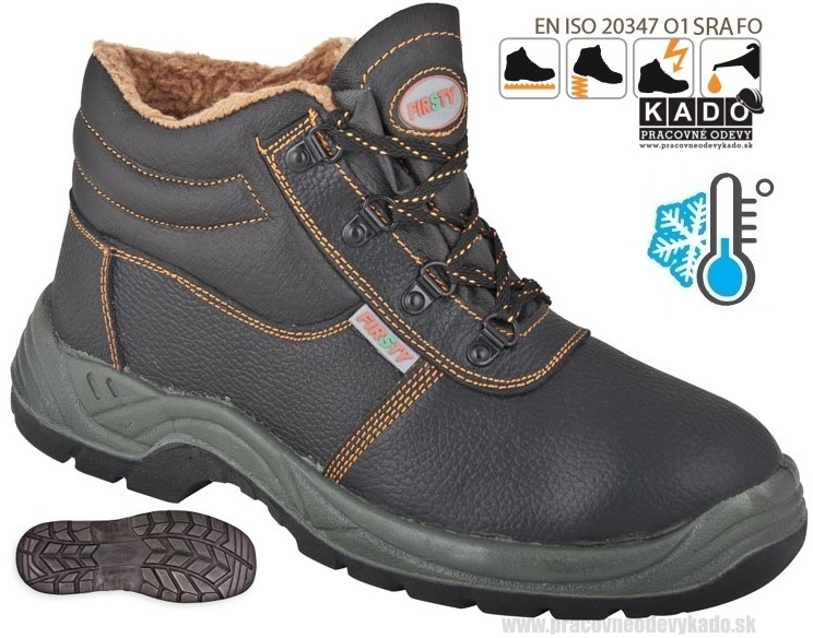 Pracovná obuv FIRSTY HIGH FIRWIN 01 WINTER zateplená 767794260a1