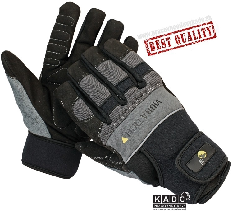 Pracovné rukavice FREEHAND NIGRA antivibračné rukavice. cena v eshope 10 1cd1e54bc0