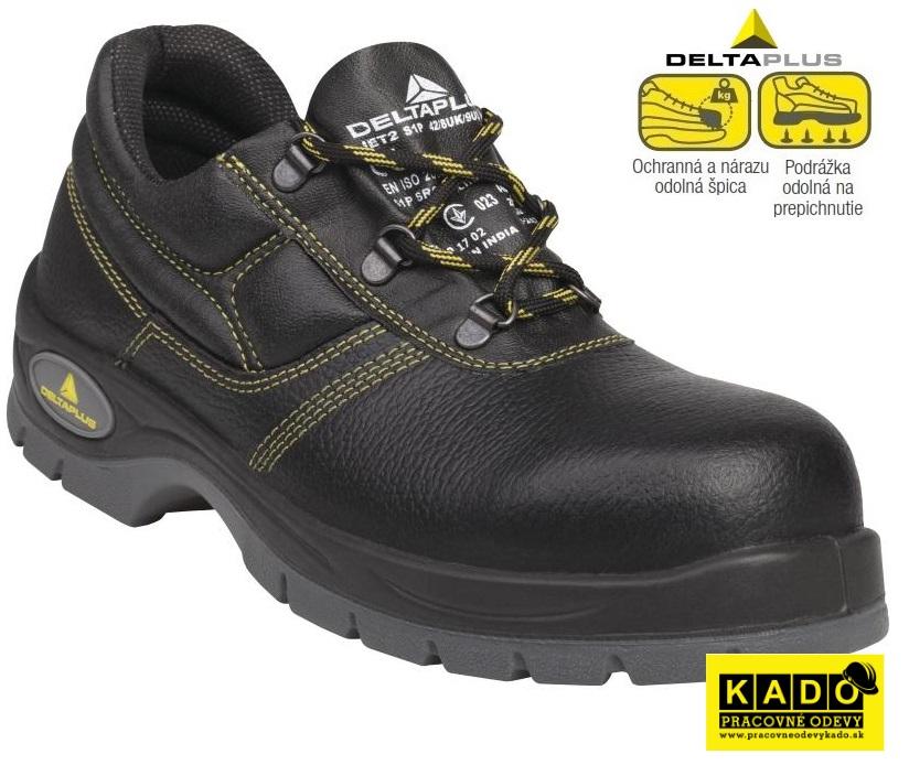 Bezpečnostná obuv - poltopánka JET2 S1P DELTAPLUS 7189308f439