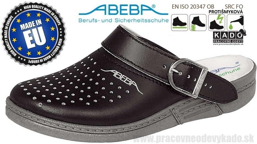 19acb18bbd01 Zdravotná pracovná obuv ABEBA 7030 čierna