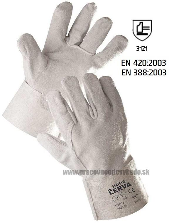 a1c8f8d65fc Pracovné rukavice SNIPE ČERVA