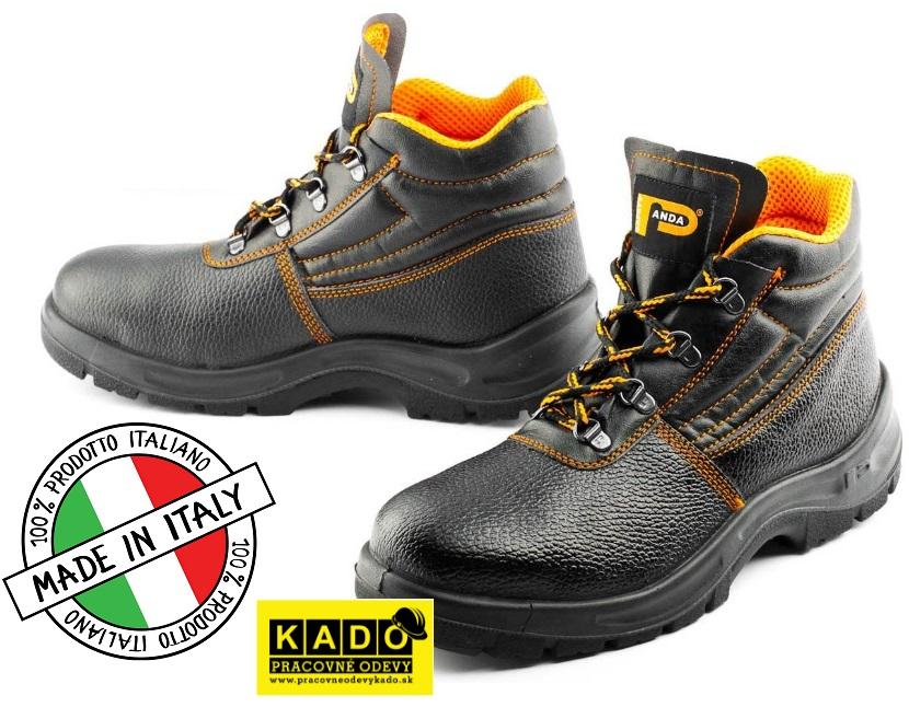 0643dcfb9c Pracovná obuv PANDA ERGON Ankle O1 ALFA