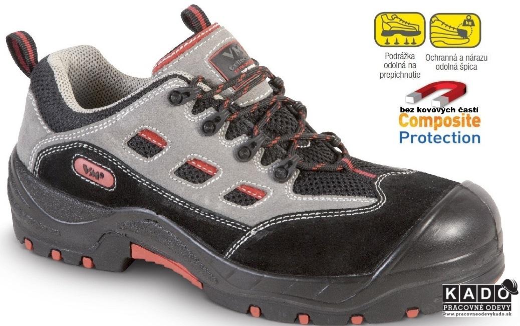 AKCIA Bezpečnostná treková obuv VM ATLANTA S1P NON METALIC 1c2ed263f02