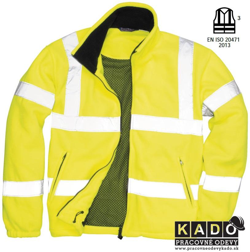 2df914b2f57 pracovná reflexná fleecová bunda portwest f300 reflexné bundy
