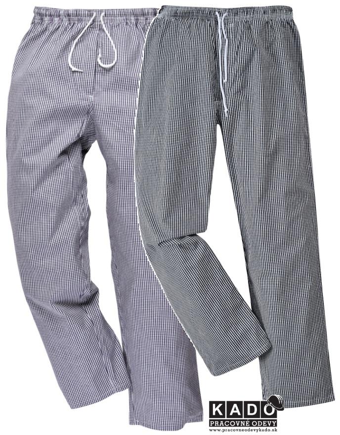 319b34da3037 Pracovné odevy - Nohavice PEPITO na šnúrku Bromley PORTWEST Chefs