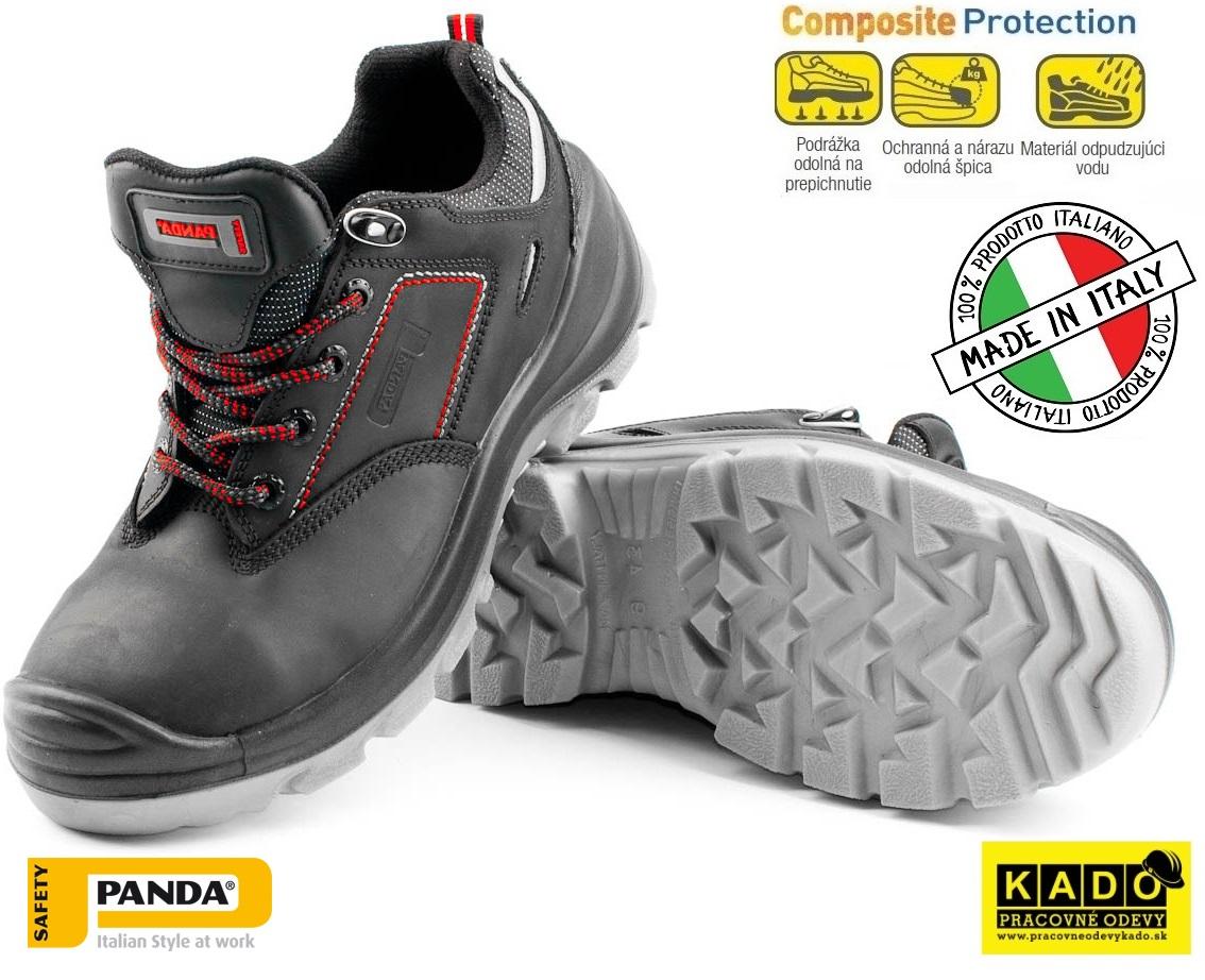 68b4751ac2ed6 AKCIA Bezpečnostná obuv PANDA ULYSSE S3 SRC SKLADOM