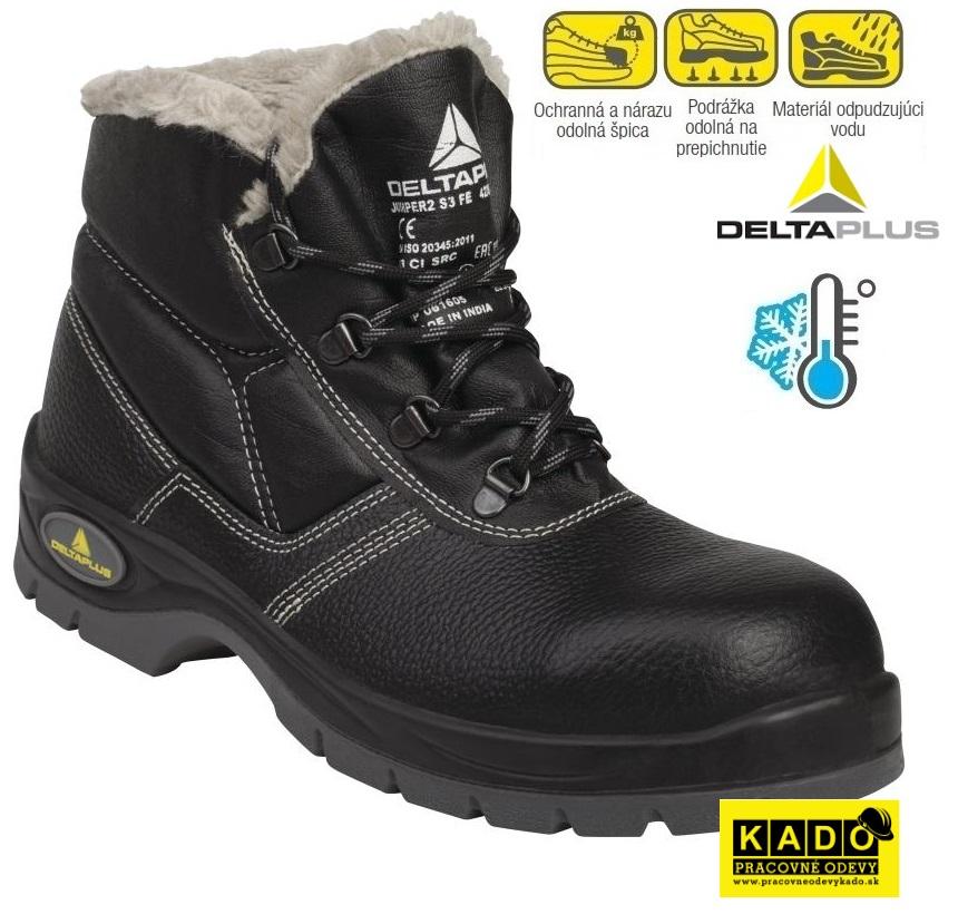 Bezpečnostná obuv DELTAPLUS JUMPER S3 WINTER zateplená do -30°C 1bb83049401