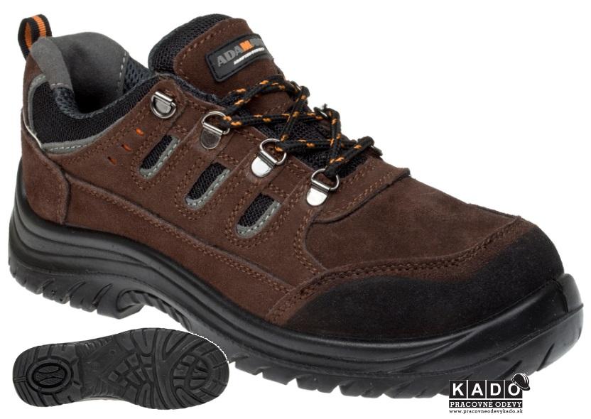 c7fd4614ff4 Pracovná obuv Adamant BAXTER LOW poltopánka O1
