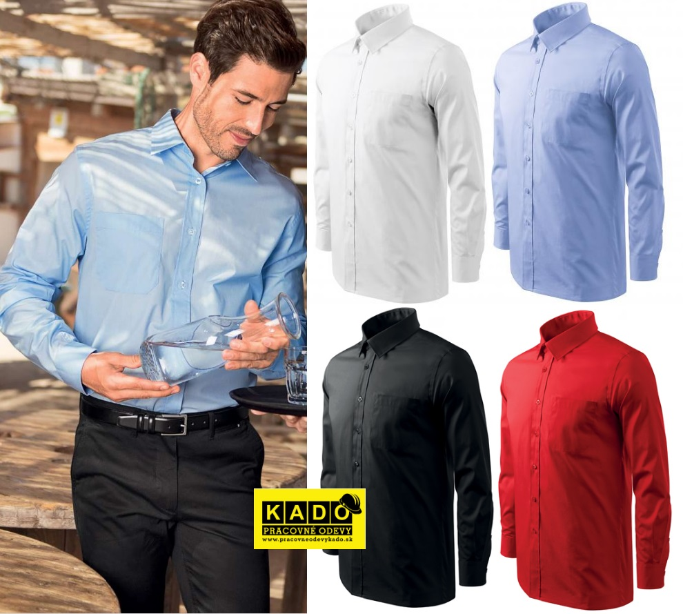 38de3277089c Pracovné odevy - 209 Košele pánske Shirt long sleeve adler