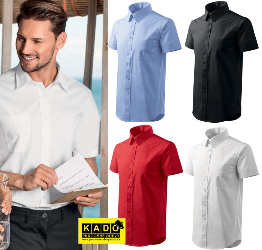 b1892be85647 Pracovné odevy - 207 Košele pánske Shirt short sleeve adler