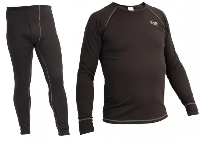 3fb390f79 Pracovné odevy - SPODNÉ THERMO prádlo VISBY PANOPLY SIVO/ČIERNE ...