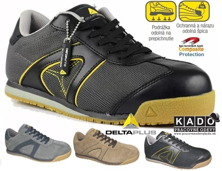 2113dd06d3 Bezpečnostná pracovná obuv D-SPIRIT S1P DELTAPLUS