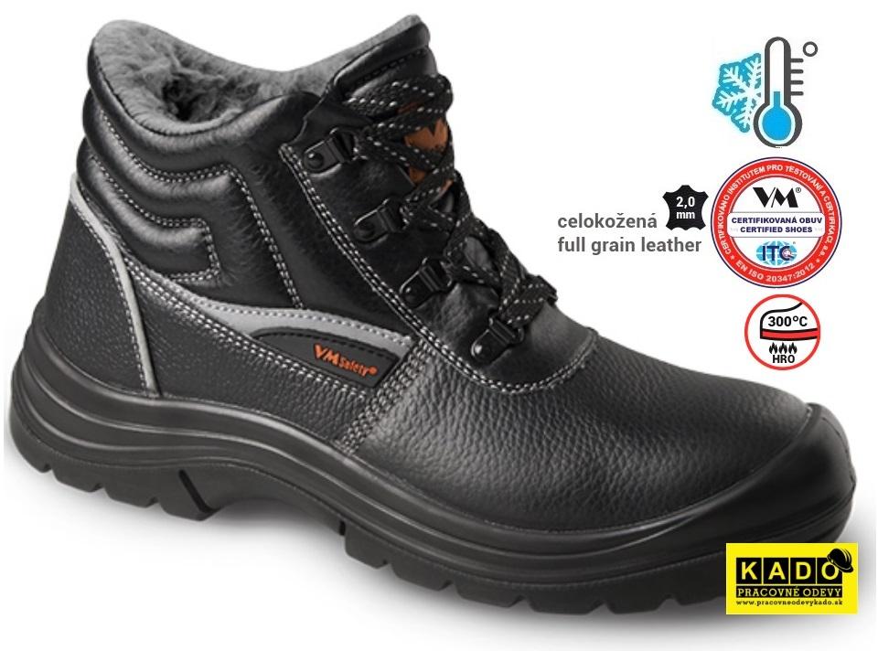 Pracovná a bezpečnostná a pracovna zateplená obuv ba7b7fa3cdf