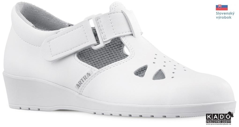 Pracovná obuv - sandále ARTRA 051 OB E SRA BIELE 8bbb6d8f943