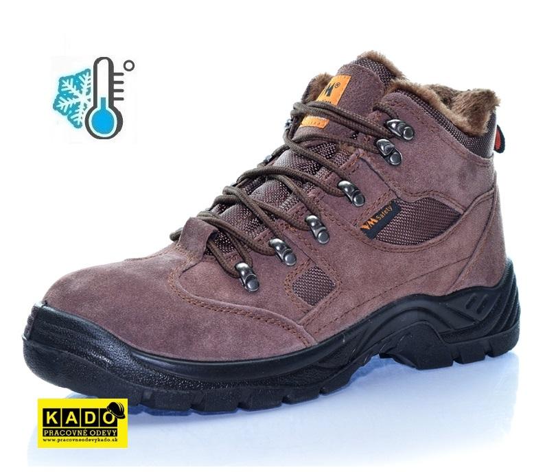 cd3b22c97a0d9 AKCIA Pracovná obuv VM SANMARINO 3170 - 01W SRC ZATEPLENÁ