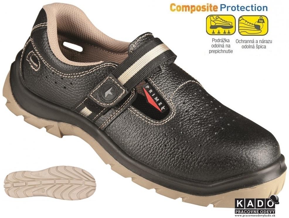 Bezpečnostná obuv - sandále PRIME SANDAL S1P ARDON 29da05e801d