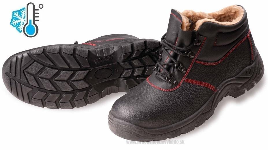 Bezpečnostná zateplená obuv FF MAINZ SC-03-002 WINTER S1 769ec6b6361