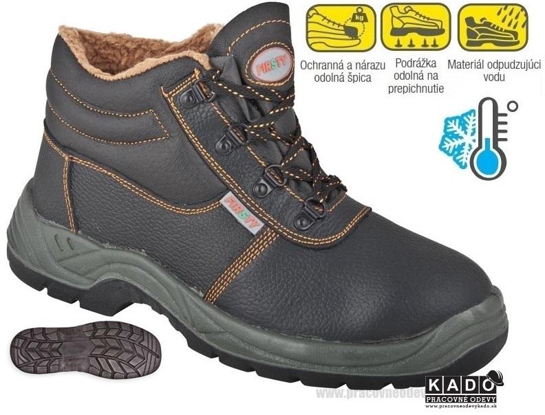 Bezpečnostná kotníková obuv FIRSTY FIRWIN S3 WINTER 6235809b85f