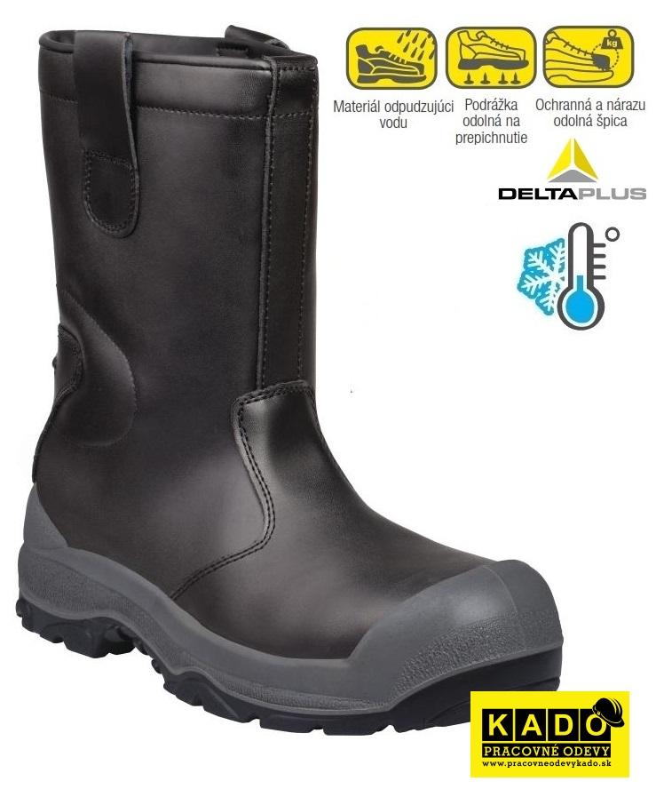 Bezpečnostná zateplená obuv SAMARA S3 SRC DELTAPLUS 83703f16915