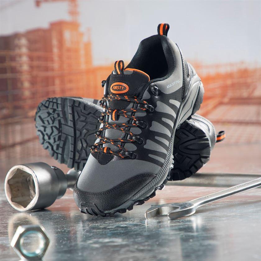 Pracovná obuv - softshellová outdoorová obuv 859528efdfd