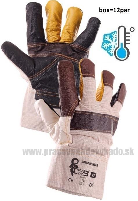 Pracovné zateplené rukavice BOJAR WINTER CXS 093c9a3b05