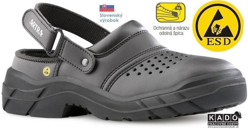 5512602571f5 Bezpečnostná obuv ARNO ARTRA ESD SB A E SRC